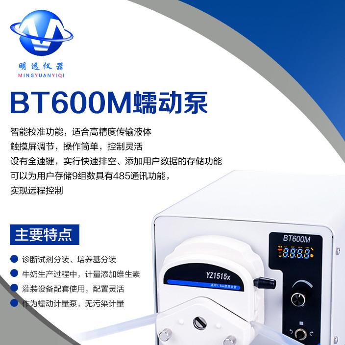 恒流泵 蠕动泵BT-600M 明远仪器 厂家直销