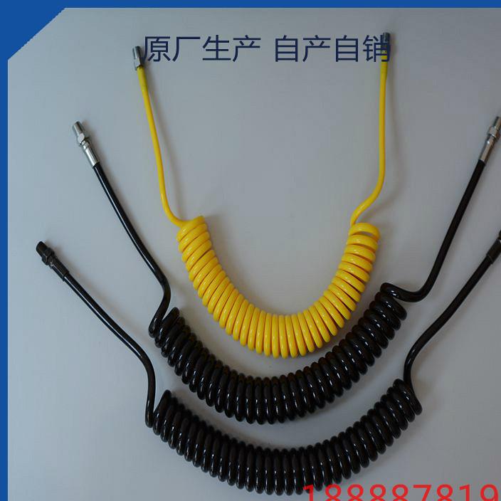 高压气管树脂管漆弹 螺旋管耐高温管