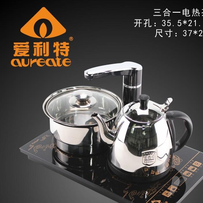 自动上水电热水壶 电水壶不锈钢 烧水壶 快速壶 智能带消毒电茶炉