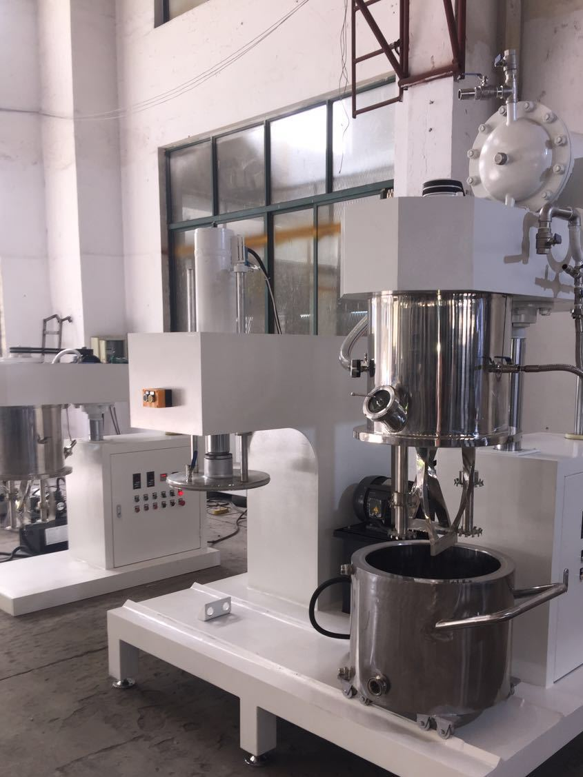 双行星搅拌机 高粘度分散搅拌机 银浆搅拌机 铝浆搅拌机