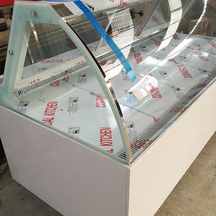 厂家直供大理石鸭脖柜加工定制 食品冷藏柜食品保鲜柜直销现货