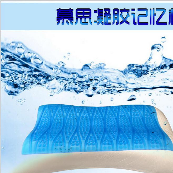 凝胶枕头芯0压力太空记忆枕护颈椎夏季清凉助眠蝶形枕工厂家批发