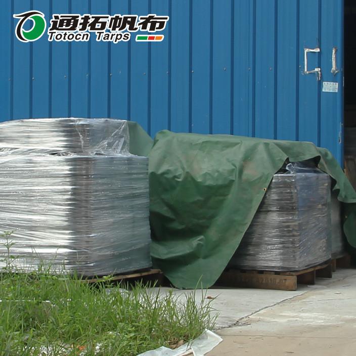 江门绿色盖货帆布_中山盖货帆布厂_ PVC涂层布盖货帆布