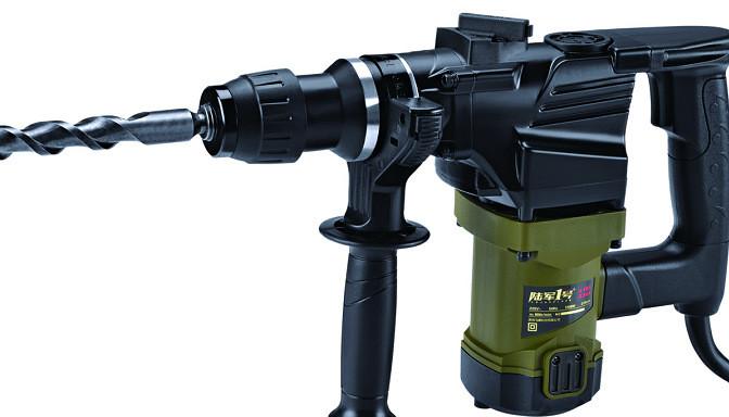 陆军一号 1200W 高效电锤双用 LJ-81026B 电动工具