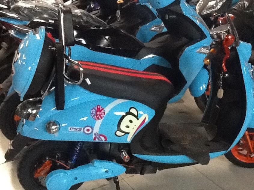 中国梦 梦之爱中国著名品牌小龟王电动车加长版豪华踏板电动摩托