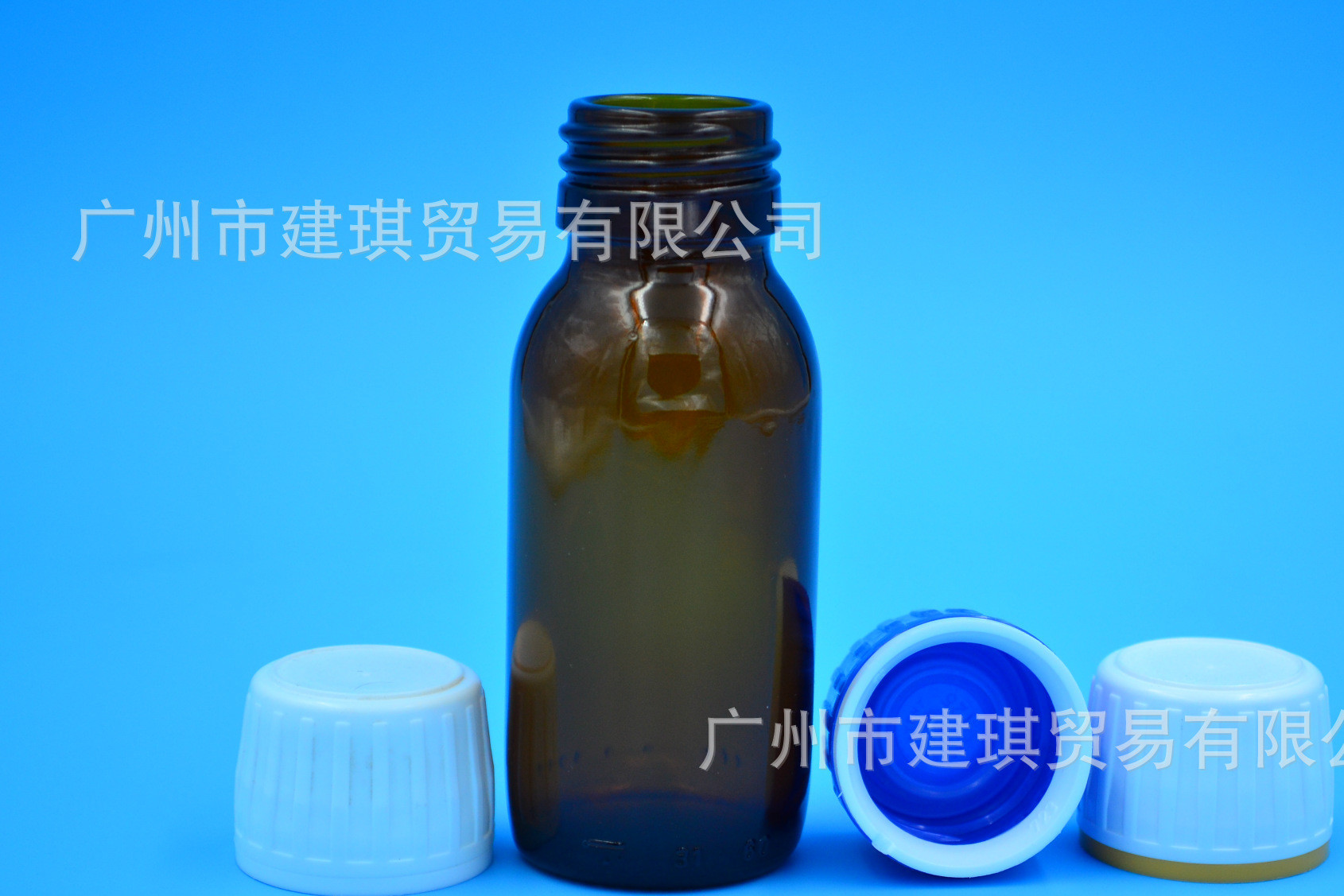 60ML28口茶色玻璃瓶配进口盖