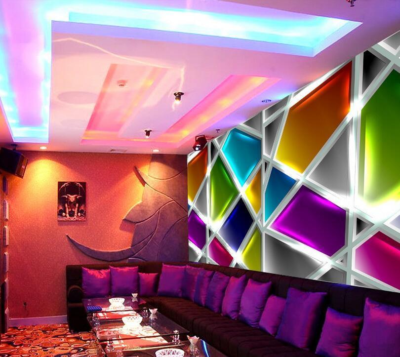主题ktv装饰大型壁纸酒店餐厅包厢背景墙壁画网吧欧式3D立体墙纸