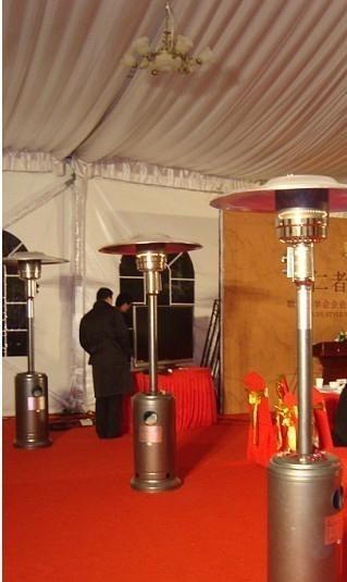 广州供应喜庆活动用品取暖器 电磁滑幕 吊挂好彩头金色球出售出租