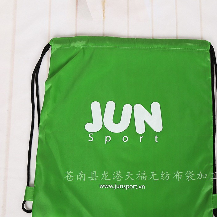 新款涤纶布袋批发 广告束口袋 拉绳袋 防水拉绳布袋量大优惠