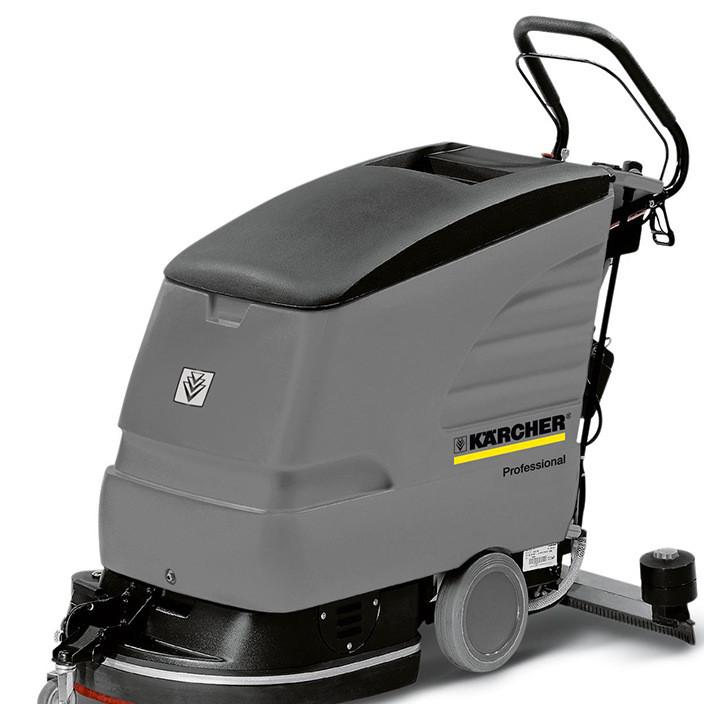 青岛驾驶式洗地机直销 北方黑色大型环保洗地机供应商品质保障