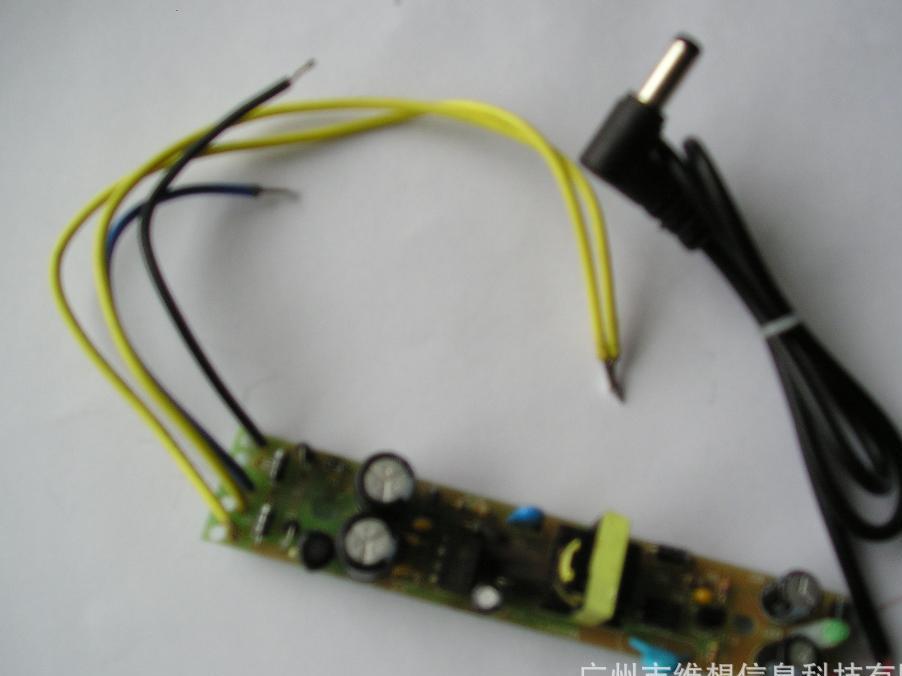 厂家直销家用信息箱布线配电箱HL-DM1C专用单路电源模块裸板