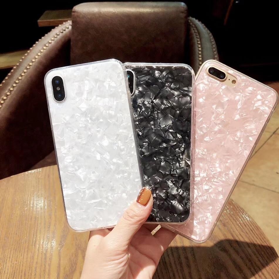 韩国女款苹果8x梦幻贝壳纹r11手机壳x21 IMD全包r15保护套美图T8