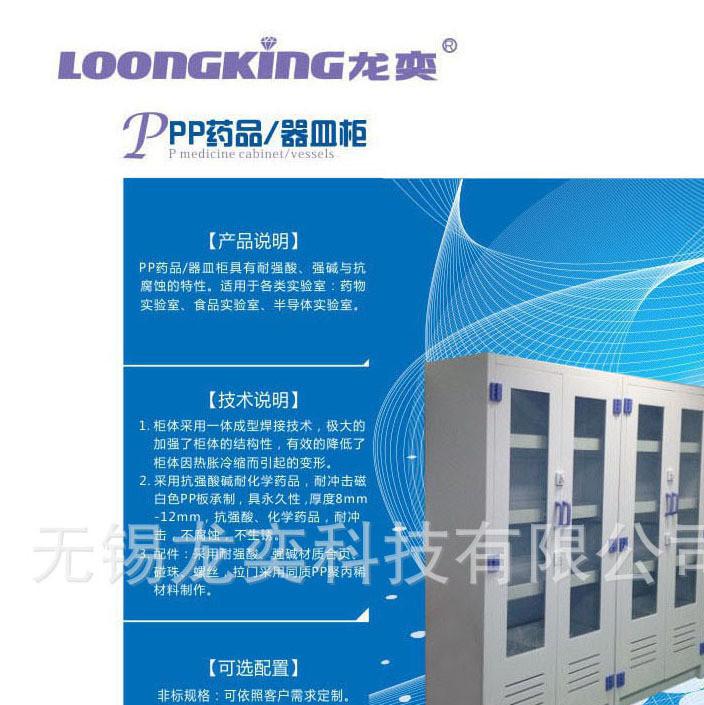 PP药品/器皿柜/太阳能光伏实验室定制设备/