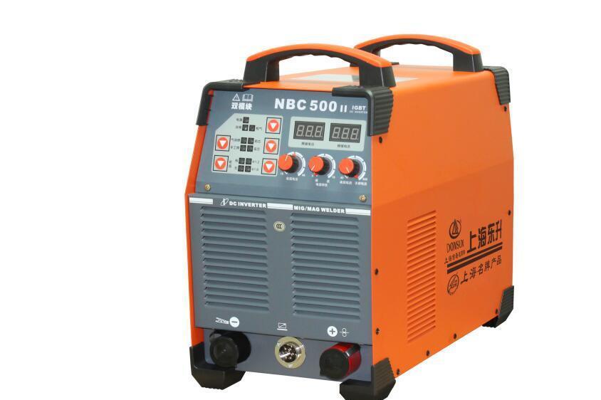 上海东升电焊机NBC-500II 逆变手工焊两用气体保护焊机