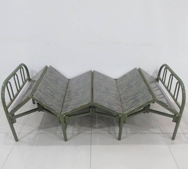 厂家直销 家用野外休闲折叠床 手提行军折叠床 可定做午休床