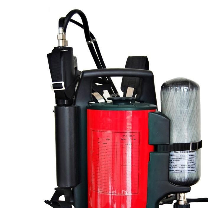 灭 细水雾 背负式细水雾灭 微型消防站 正品 细水雾枪