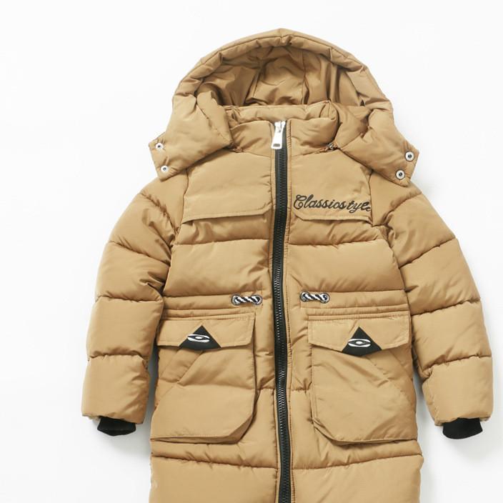 厂家直销新款儿童韩版加厚棉衣 休闲印花男童棉衣批发26112