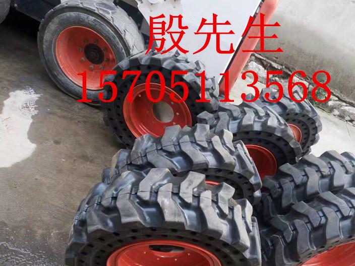 滑移装载机实心轮胎 路面清扫机实心胎 耐磨免充气实心轮胎