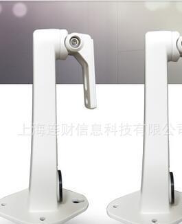 室内外监控摄像头壁装铝合金支架 鸭嘴支架