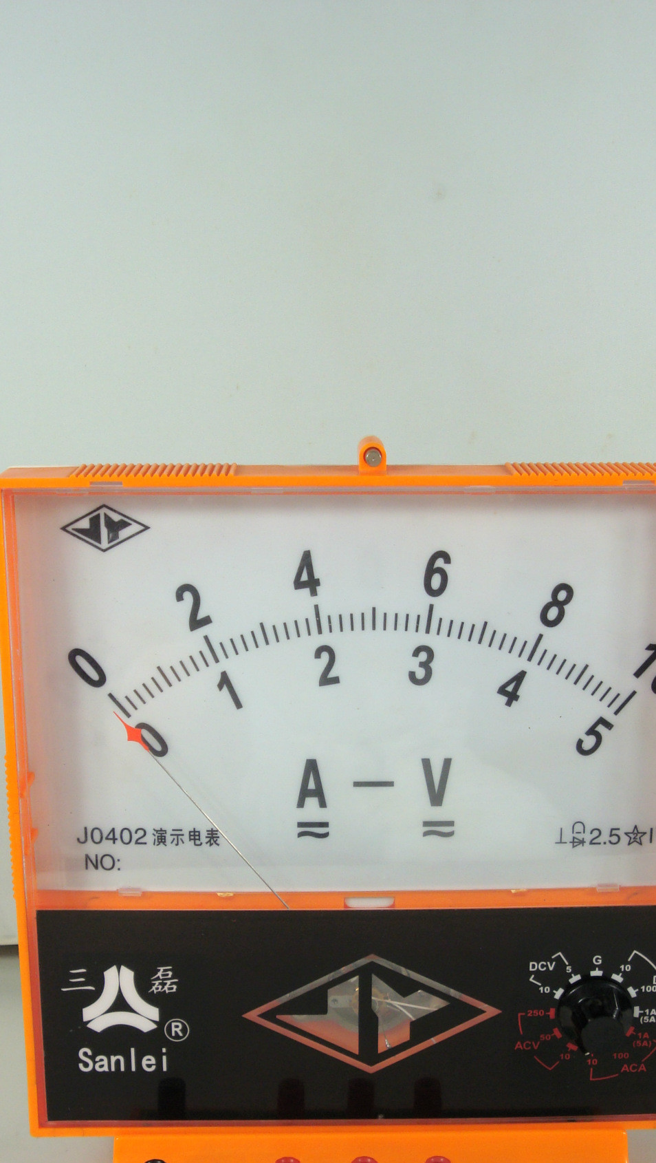 J0402 演示电流电压表 物理教学实验仪器 物理教学仪器 实验仪器