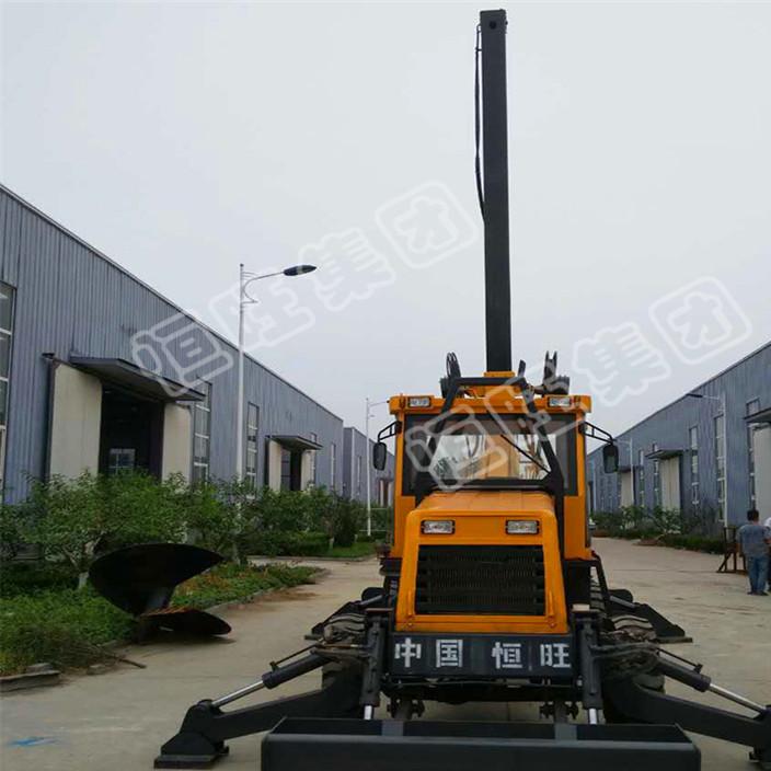 大孔径打桩机 15米旋挖钻机 小型行走式旋挖打桩钻机价格