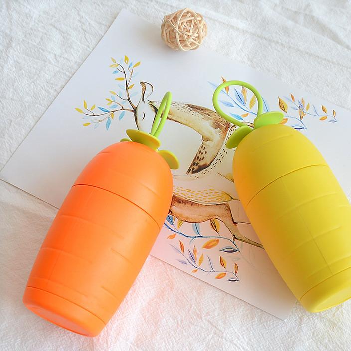 创意胡萝卜usb充电小风扇 手持便携式学生宿舍风扇迷你萝卜小风扇