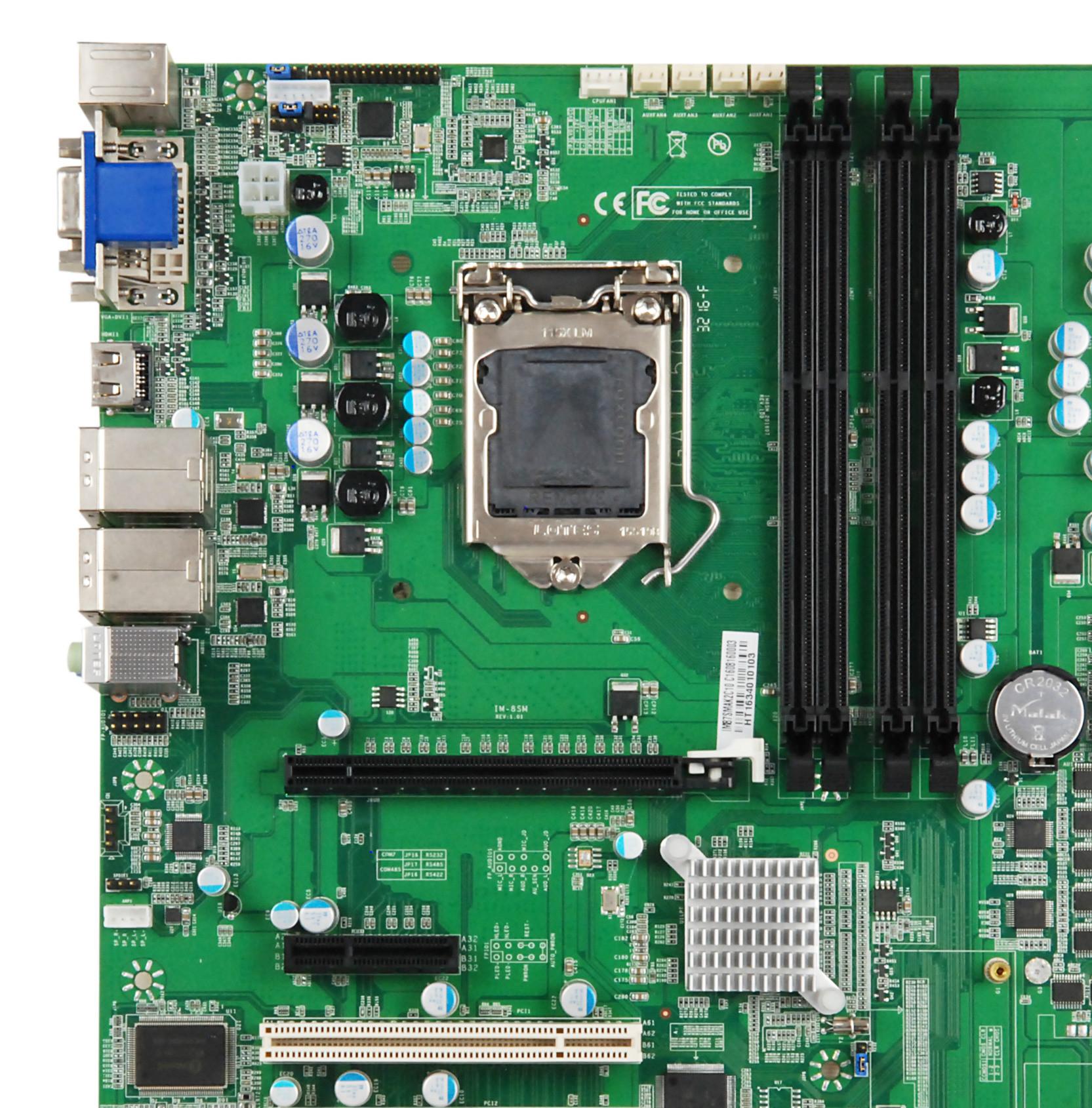 IM87SMAK2C10 工业母板/PCI/PCIE/存储/监控工业串口服务器主板