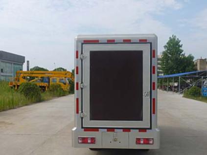 国五长安广告宣传车 轻卡小型科普宣传车 单排LED宣传车