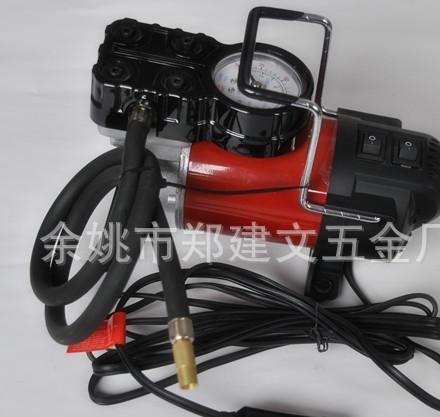 便捷型轮胎充气泵 新品气泵 汽车金属气泵 ZH-Q501