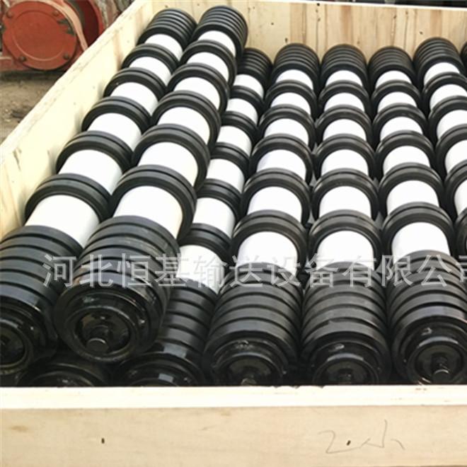 厂家直销生产 防水防尘槽型托辊 三联托辊 托辊组 缓冲托辊