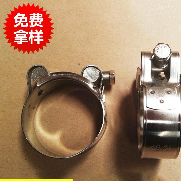 专业生产单头实心强力不锈钢喉箍 强力喉箍卡箍 喉箍批发
