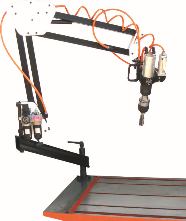 宁波定制 格莱司达气动攻丝机加工 全新半自动JS-33A万向型攻牙机