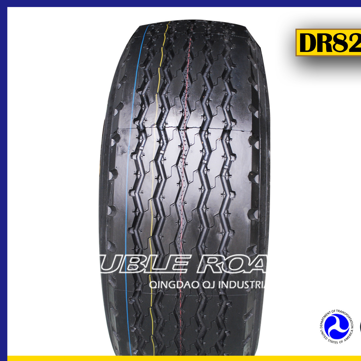 加厚卡车轮胎 全优质德宝路抓地轮胎 波浪纹 385/65r22.5
