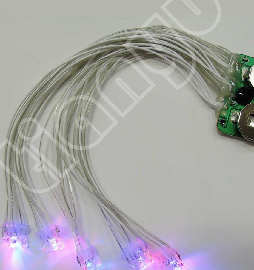 玩具手套闪灯IC,皮套闪灯芯片,手指闪灯,防水闪灯线路板