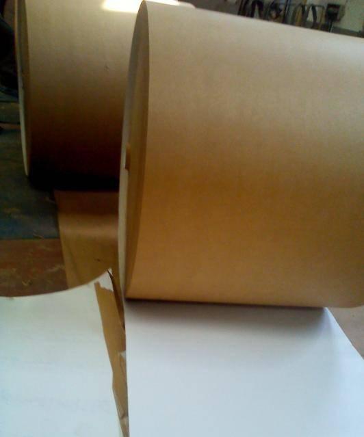 厂家供应高强精致进口美国卷筒涂布牛卡服装制衣手袋厂包装
