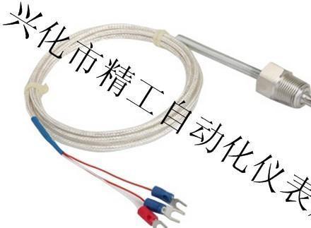 厂家直供管螺纹2.3.4分热电偶 热电阻 K PT100传感器