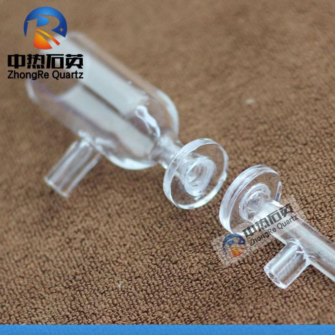 石英管 石英玻璃管 透膜 过滤 溢流器 卡口 接头 分子 电解池定做