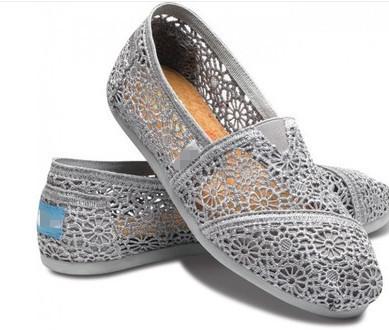 2017厂家直销夏季新款韩版蕾丝帆布鞋镂空平底懒人鞋单鞋外贸批发