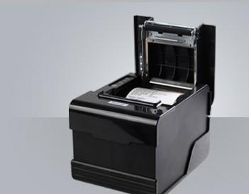 80MM热敏打印机 芯烨XP-F260N小票据打印机 自动切纸 网口 带切刀