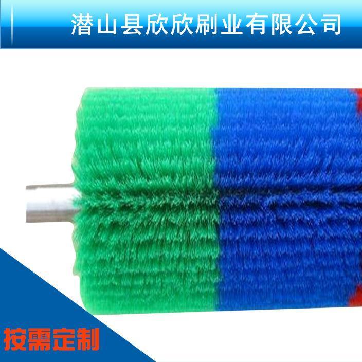 厂家直销 水果清洗机毛刷 毛刷辊 钢丝刷