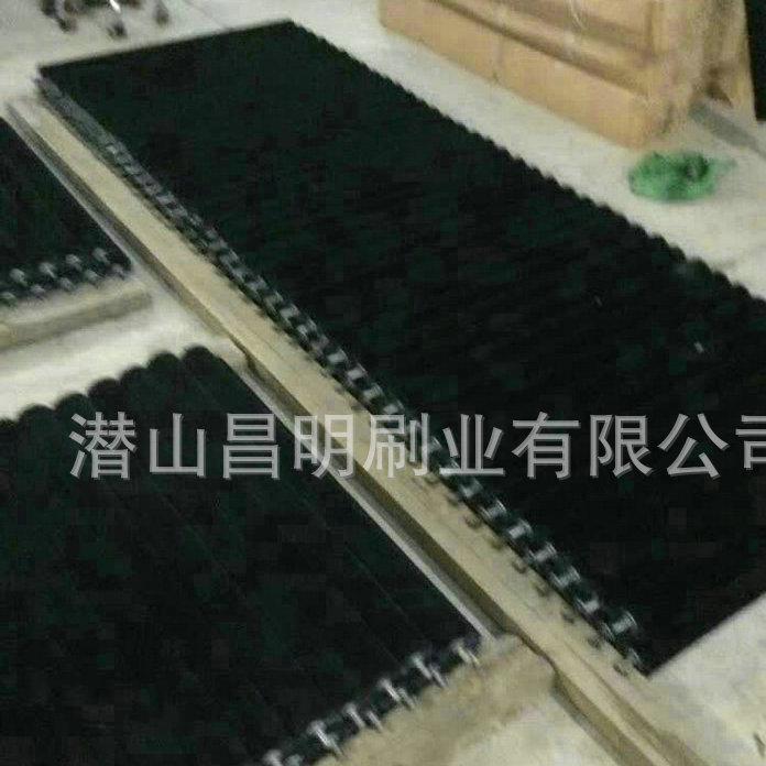 条刷厂家 自动扶梯条刷 防尘条刷 弧形条刷 快速发货