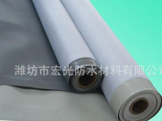 厂家直销耐根穿刺防水卷材,房顶防水材料 PVC卷材防水材料等
