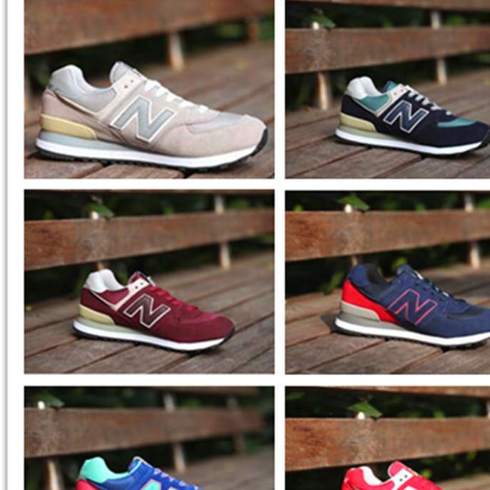 厂家直销N字574跑步鞋女鞋 秋冬男鞋跑鞋男女式运动鞋一件代发
