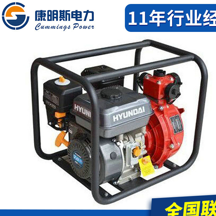 1.5寸消防泵 1.5寸汽油高压泵 高压汽油机水泵 高扬程汽油消防泵