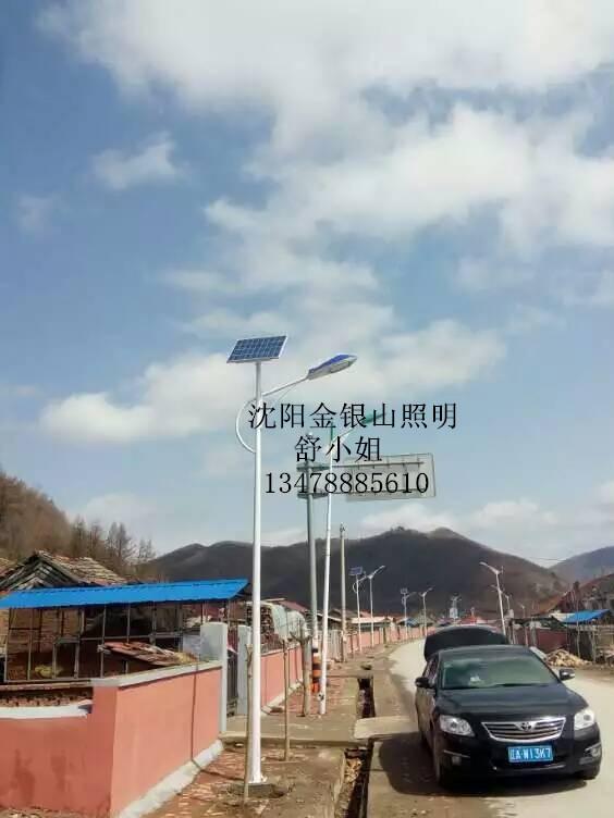 沈阳6米太阳能路灯LED光源生产厂家