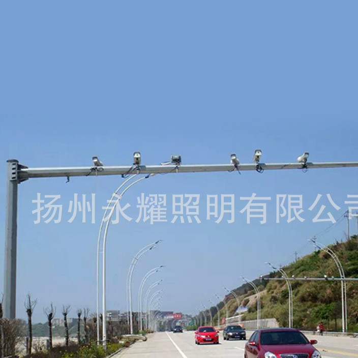厂家定制 道路监控杆 电子杆 高速公路监控杆 交通监控杆