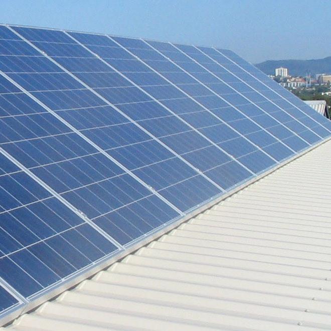 阳光创盈 20KW多晶太阳能光伏发电并网系统一站式服务
