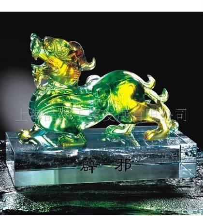 热销上海定制水晶琉璃工艺品,送礼 ,上海直送