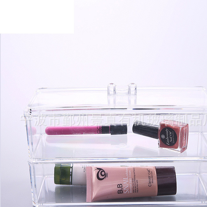 厂家定制 天地盖亚克力展示盒 有机玻璃包装盒亚克力首饰展示架