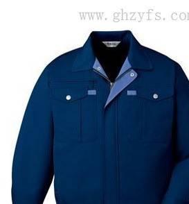供应牛仔布工作制服,全棉斜纹牛仔服,牛仔套装工服,蓝色牛仔服